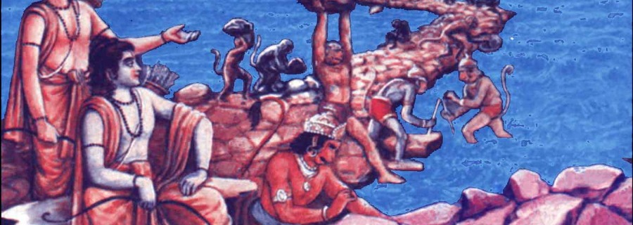 The description of Ram Setu in Ramayana