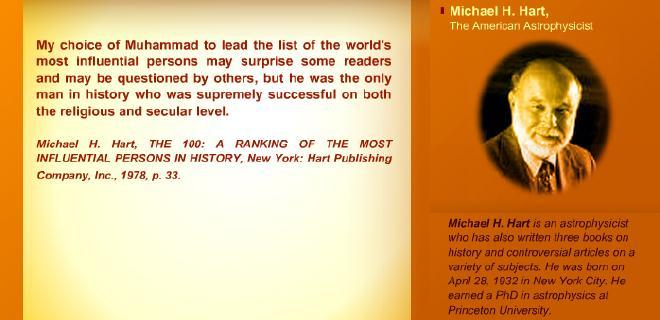 Micheal H Hart : The 100 Most influential