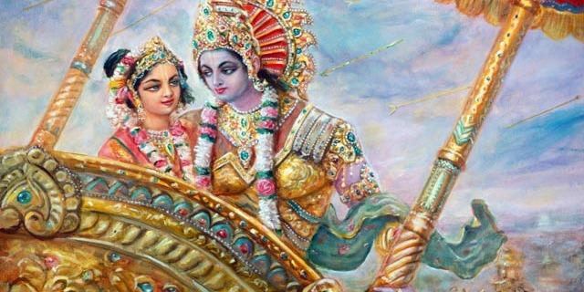 रुक्मिणी और कृष्ण की प्रेम कहानी