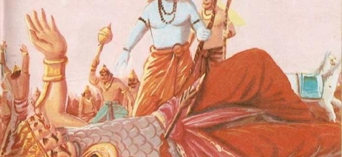 Epic battle of Ram and Ravana