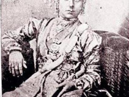 Original Photo of Jhansi ki Rani LAXMI BAI