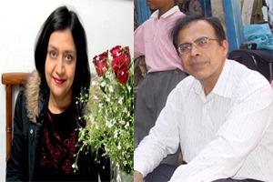 Shelly Bhatra and Sandeep Ahuja