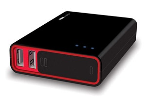 Power banks with extra capacity and connectors