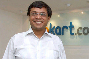 Sachin Bansal – Co-founder 'FlipKart'