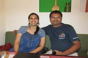 Smita Ramakrishna and Ramakrishna NK