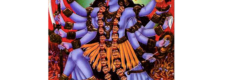 MAHA KALI - THE MOST FEROCIOUS HINDU GOD