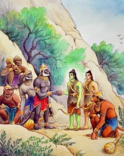 hanuman ji as eliminator of obstacles and pure devotion