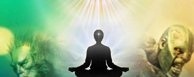 Technique of Raj yoga meditation