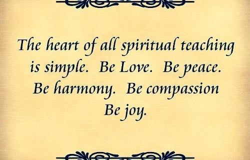 Align your heart towards spirituality