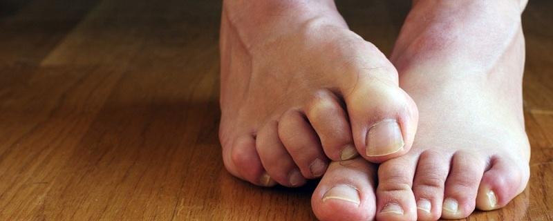 Feet reading reveals future!