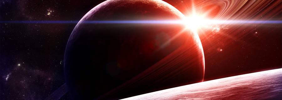 Sunrise in space.by.gucken
