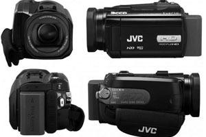JVC Everio GZ-HD6EK