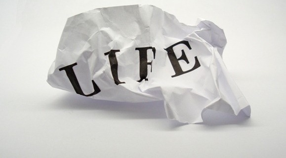 Life cannot be recycled! Don't waste your life! Value Life!