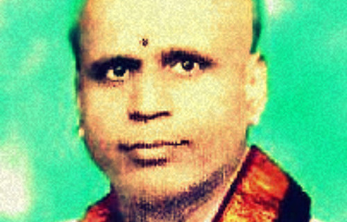 Famous Indian scholar