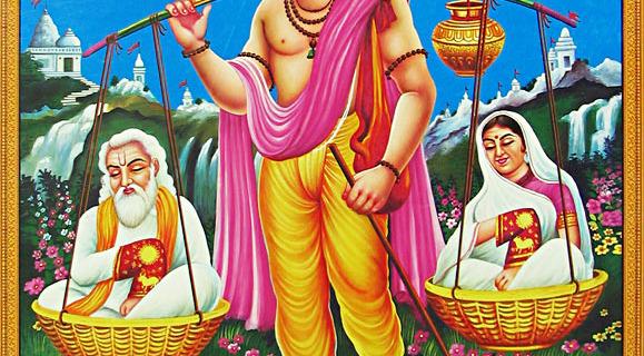 SHRAVAN KUMAR'S LOVE FOR PARENTS.