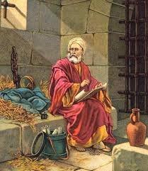 The imprisoned Paul