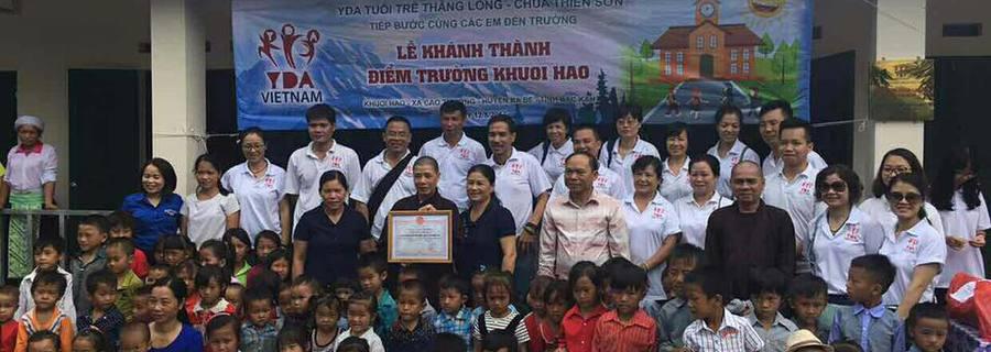 Opening ceremony of Khuoi Hao Elementary School