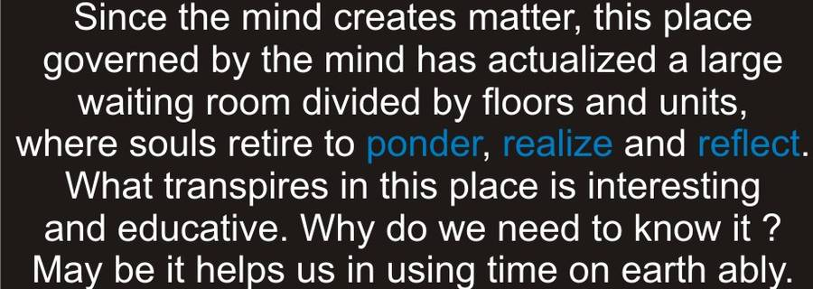 Reaching Svar Loka- The Dimension of Mind