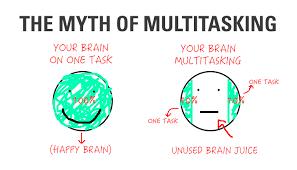 3. Stop Multitasking