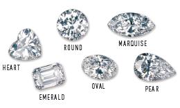 Different Shape Diamond