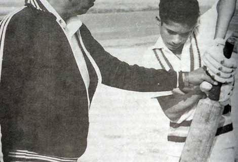 Sachin and Achrekar sir