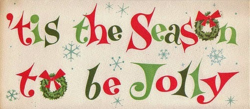 It's the season to be jolly