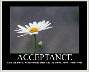 Acceptance!
