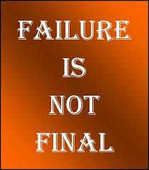 Three Reasons for Failure