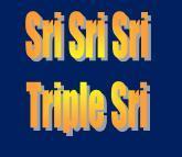Triple Sri Chutiyananda Swami ji