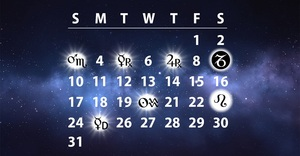 Lucky and Unlucky dates in a month for every Zodiac Sign