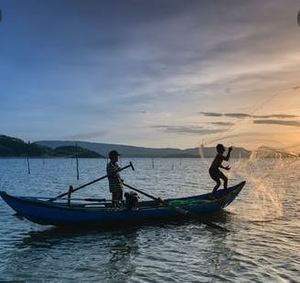 The Boatman Who Takes You Ashore Safely