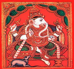 Ganesha & The Elephant