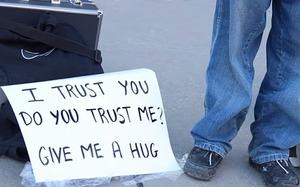 Blind hug social experiment starts beautifully, ends sadly!