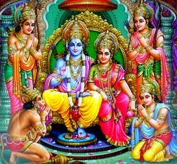 write about the two epics ramayana and mahabharata images