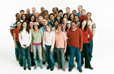 Multi-ethnic people